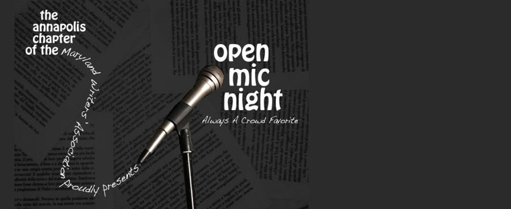December 18, 2019 at Annapolis MWA: Open Mic Night! Always A Crowd Favorite