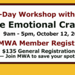 October 12 – Donald Maass Workshop 2019